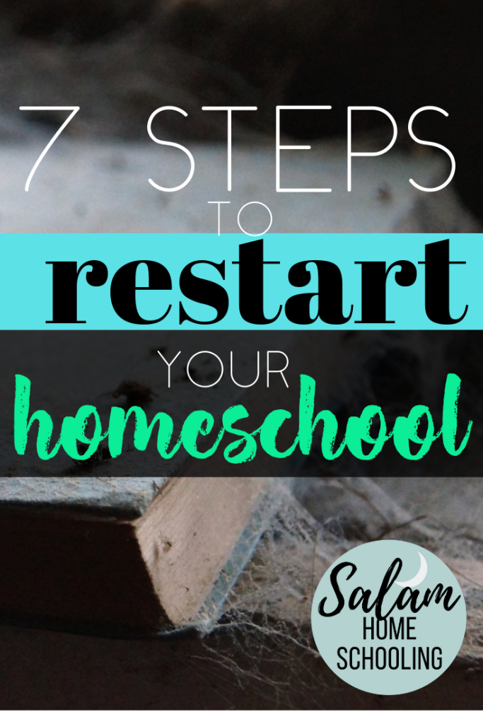 tips to resume study in your homeschool. Muslim homeschooling after holiday