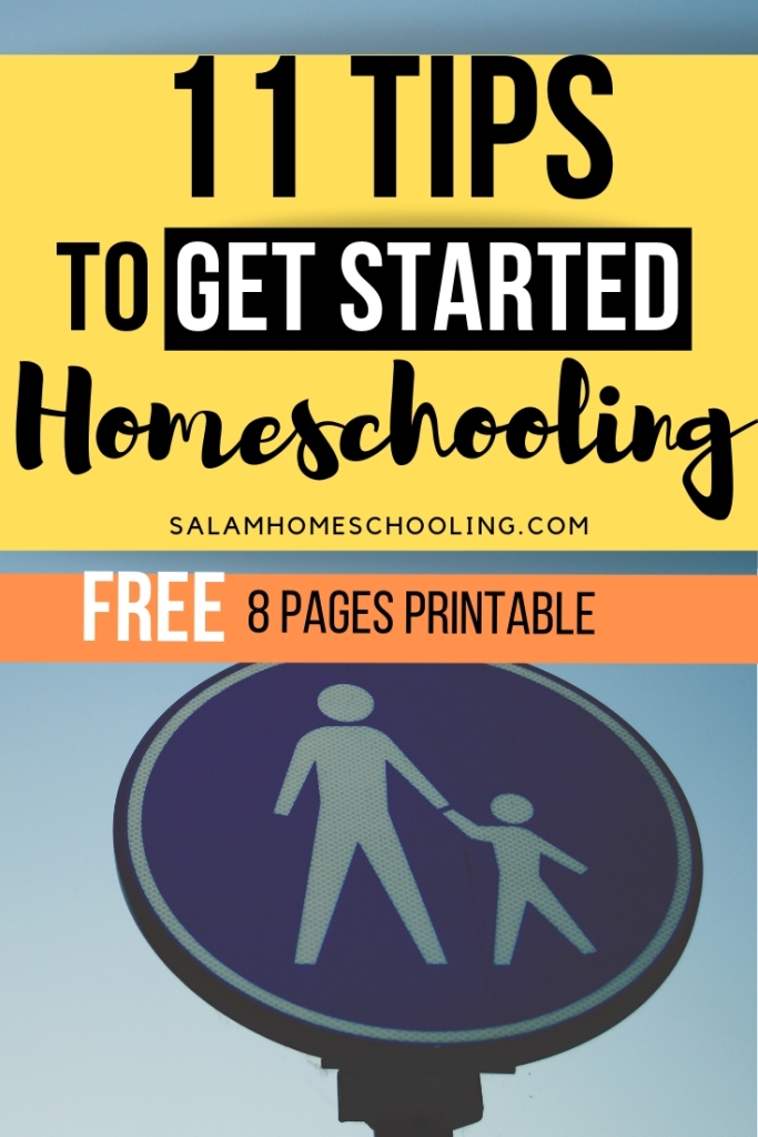 Set up your homeschool free printable